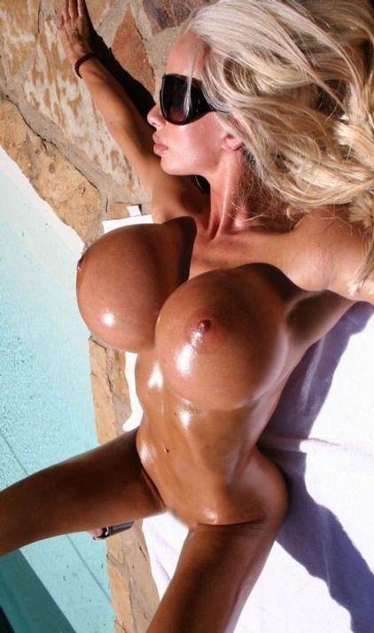 Blonde bimbo big fake tits remarkable, valuable
