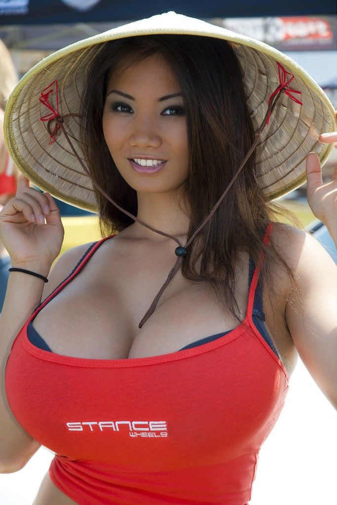 massive asian tits