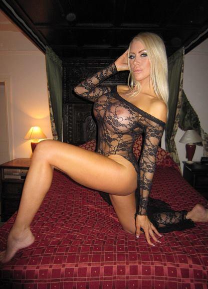 image Blonde milf and stud in bedroom romp