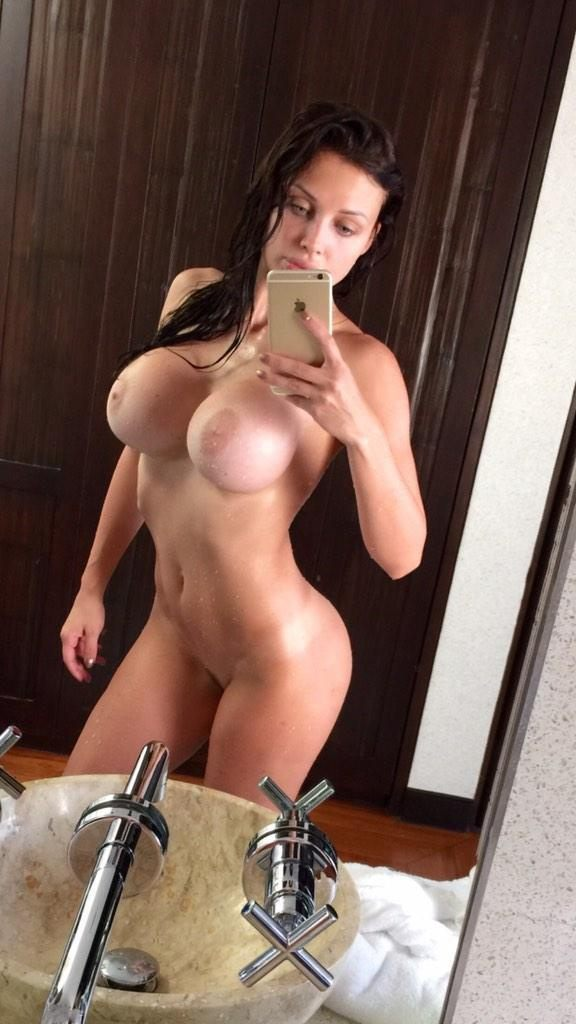 Naked Girl After Shower