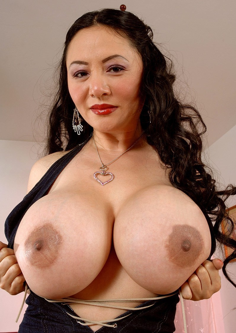 Asian Milf With Huge Fake Tits  Busty Update-2581